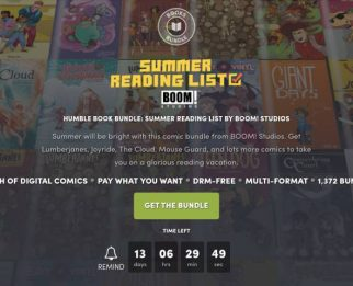 Komiksy BOOM! Studios już od 1$. Summer Reading List od Humble Bundle