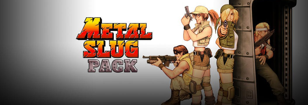 Fanatical Star Deal - METAL SLUG Pack. 4 gry za 16,59 zł