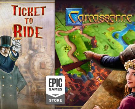 Carcassonne i Ticket to Ride za darmo od Epic Game Stores